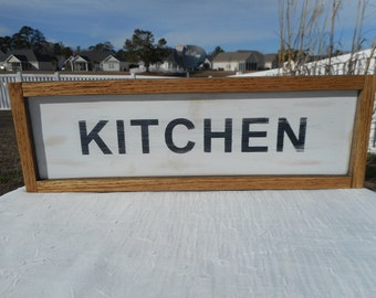 Wooden distressed Kitchen sign / home decor / kitchen decor