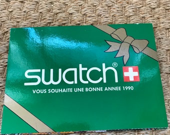 Vintage Swatch Christmas Cards
