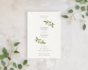 Wedding Invitation Sample - The Lauren Suite