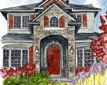 Custom Architectural Renderings of your home