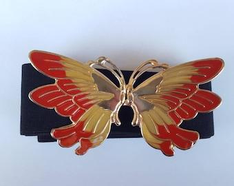 FLASH SALE / 80s Belt / Bohemian Belt / Butterfly Belt
