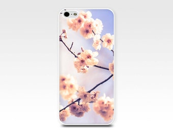 floral iphone case 5s iphone 6 case blossom iphone 5s case pink flower iphone case 4 iphone 5 case girly iphone case pastel art iphone 6
