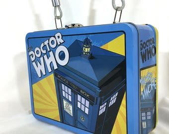 Doctor Who Vintage Look Lunch Box Purse