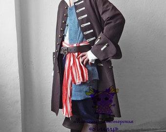 Pirate. Animator-actor suit