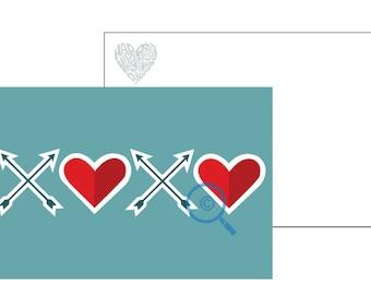 XOXO Blue Valentine