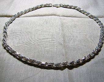 6 mm Sterling Silver Rope Chain