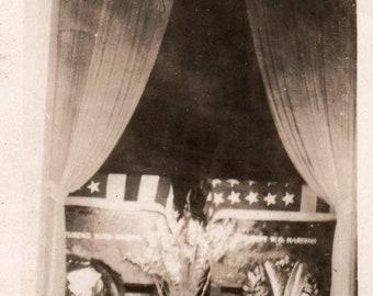 President Harding Funeral Casket