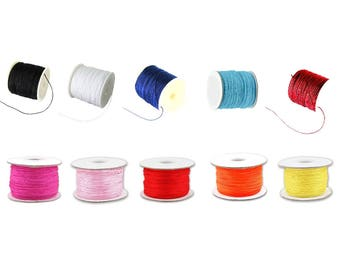 1mm - Choose Color - 1m or 10m Nylon Thread