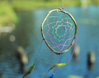 Hippy dreamcatcher Happy talisman Cheerful totem Sunny dream catcher
