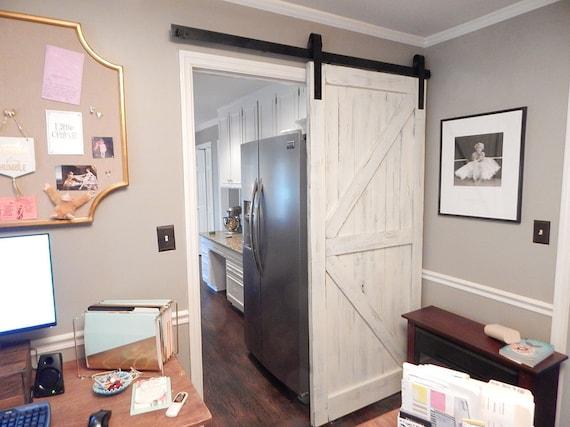 Atlanta Interior Sliding Barn Door Classic British Brace Arrow