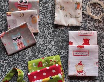 Set of 3 handkerchiefs for children