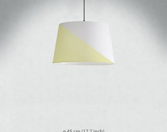 Triangle | Lamp Shade. Diameter 45 cm (17.7 in), 34 cm (13.4 in), 23 cm (9 in). Ceiling or floor, table lamp, hand painted.