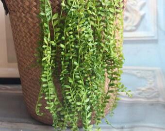 10pcs Length 45cm Artificial Simulation Fern leaves hanging basket flower vine plastic artificial plants Ivy Garland