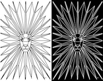 LeoNOnyx, Lion: Print