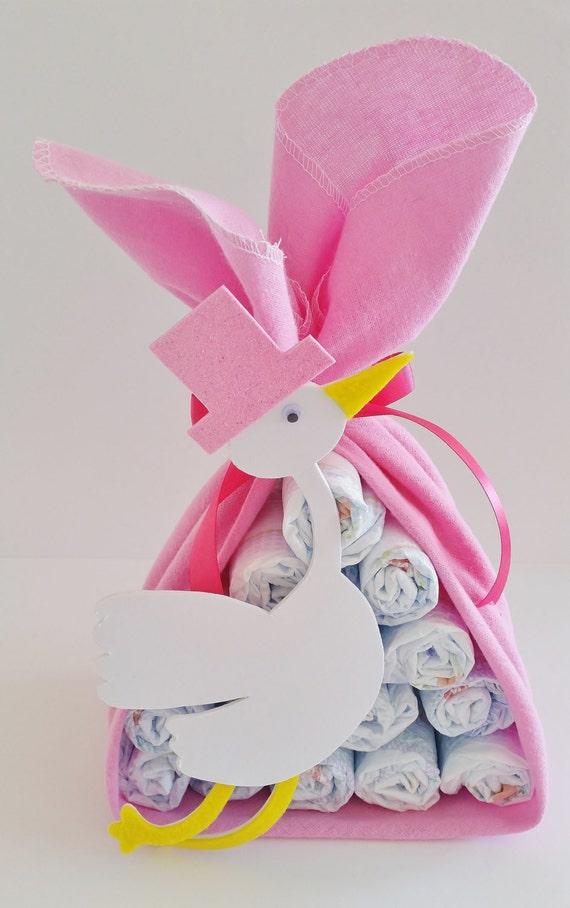 Regalos de Stork bebé paquete pedazo de cigüeña bebé ducha