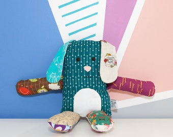 Cute stuffed animal, rabbit plushie