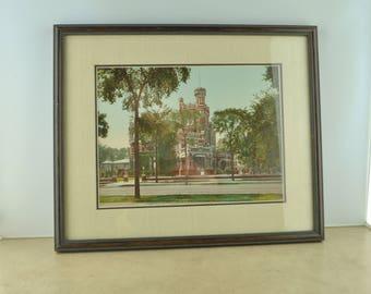 Framed Photo of Residence of Mr. Potter Palmer, Chicago