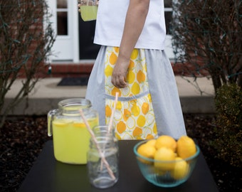 Evie's Lemonade Stand Toddler Skirt