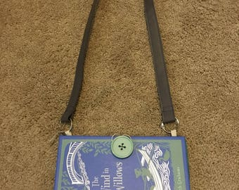 Kate Spade Inspired The Wind in the Willows by: Grahame LEATHER Hardback book PURSE one of a kind by GmaJanisew
