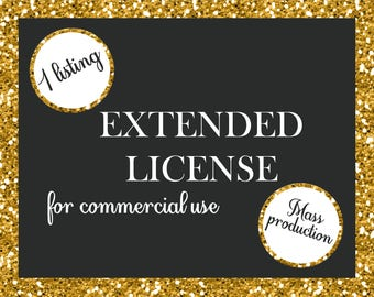 Extender License for Commercial Use No-Cretid Digital Paper Packs Graphic Design Discount Package