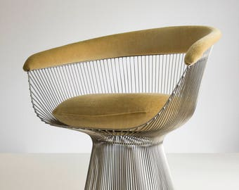 Warren Platner diningchair, ca 1970