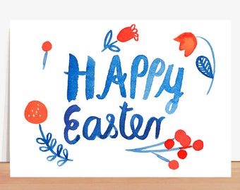 Postcard *Happy easter*