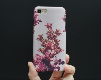 iPhone X Case, iPhone 8 Plus Case, iPhone 7 Case, iPhone 6 Case, iPhone 8 Case, iPhone 7 Plus  The glowing of the pink flowers iphone case