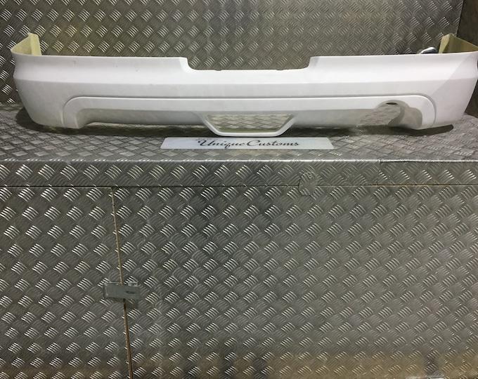 honda integra dc5 mugen style rear spoiler diffuser