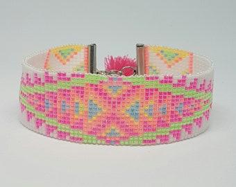 Bohemian bracelet, handmade bracelet, woven bracelet, women bracelet, Ibiza bracelet.