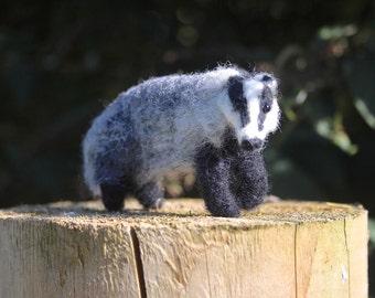 Badger Needle Felting kit for beginners