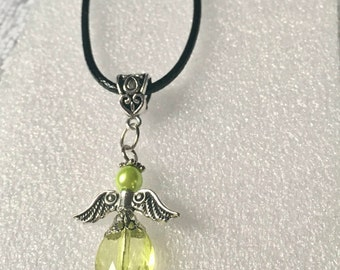 ApoloAngels Pendant Necklace, guardian angel,hope angel,praying angel.