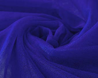 Very Soft blue Tulle -40 inches long X 63 inches wide