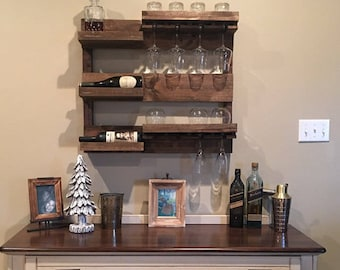 Wine and Spirits rack (Shipping Included)