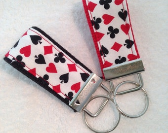 Mini Key Fob for Playing Card Enthusiest