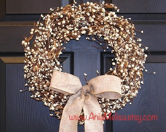 spring pip berry wreaths for front door wreaths winter wreaths berries outdoor wedding wreaths bridal shower decorations