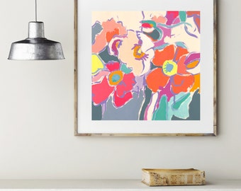 Good Things / Signed Flower Giclee Print