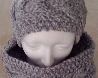 Set hat and neck warmer cable