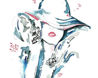 Fashion Watercolor