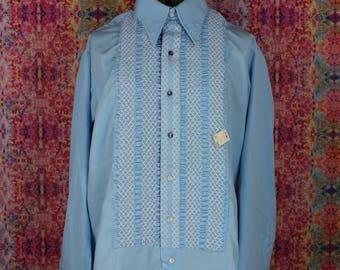 Vintage NOS Fancy Dress Shirt