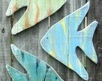 Angel Fish, Tropical Fish, Fish Wall Art, Gone Fishing, Fish Decor, Fishing Decor, Whimsical Angel Fish, Fishing Gift, Fish, Sea Art