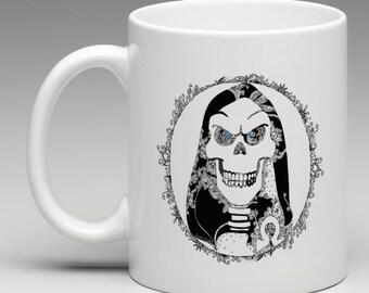 Terry Pratchett Discworld DEATH Gift Mug