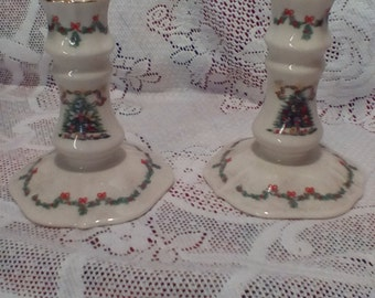 Lenox the Joy of Christmas Candlesticks