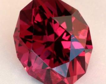 2.43 Carat Tanzanian Umbalite Garnet Gemstone Precision Cut Gem