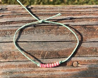 Green Rope Bracelet