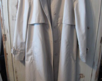 Vintage Grand Tier Trench coat Jacket size 14. Classic style.