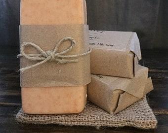 Cedarwood & Patchoui Goats Milk Soap