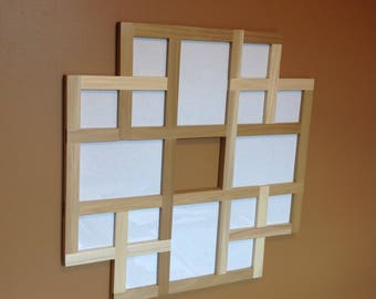 Collage Picture Frame, Multi Picture Frame, Photo Collage Frame, Multi Photos Frame, Multiple Pictures Frame, Multi Opening Frame, Collage
