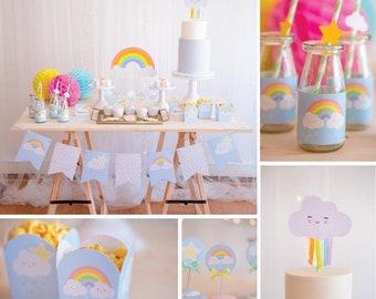 Party Kit Ready To Go - Rainbow Cloud