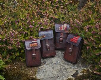 Camilla leather mini bag or phone holder