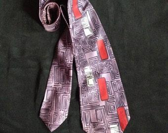 1950's Vintage Men's Cravat (Tie) / Brill Cravat